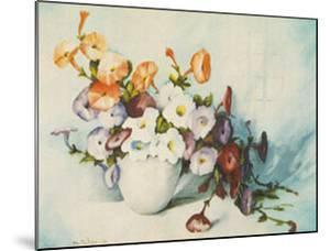 Petunias by Mabel Julian