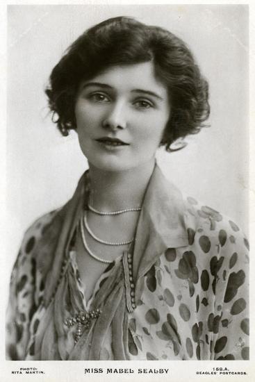 Mabel Sealby, British Actress, C1900s-C1910S-Rita Martin-Giclee Print
