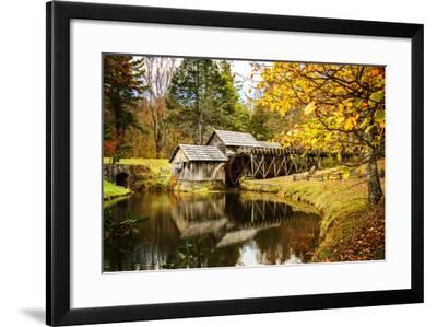 Mabry Mill I-Alan Hausenflock-Framed Photographic Print