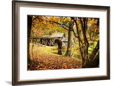 Mabry Mill II-Alan Hausenflock-Framed Photographic Print