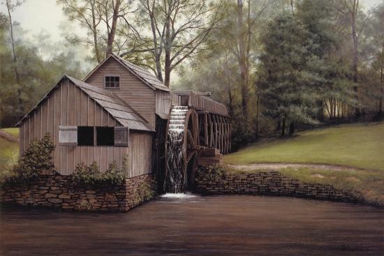 Mabry Mill-David Knowlton-Giclee Print