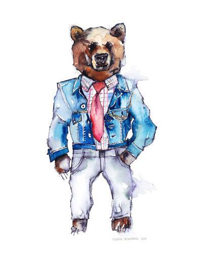 Mac the Bear-Claudia Libenberg-Art Print