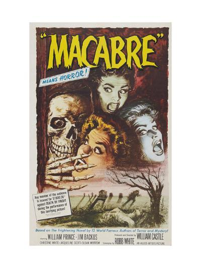 Macabre, 1958--Photo