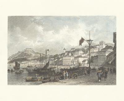 Macau- Antique Local Views-Premium Giclee Print