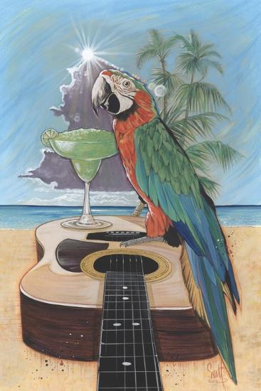 Macaw-Garita-Scott Westmoreland-Art Print
