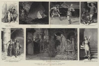 Macbeth at the Lyceum Theatre-Godefroy Durand-Giclee Print