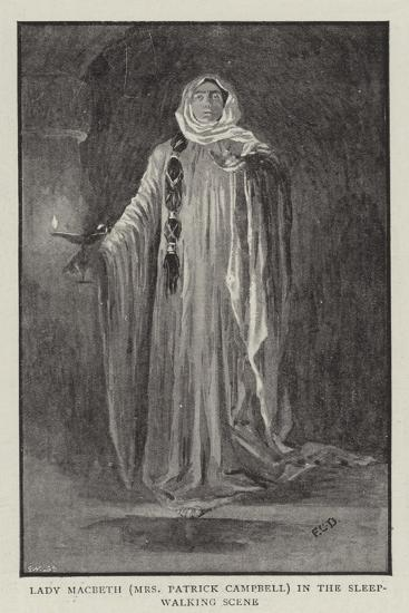 Macbeth at the Lyceum--Giclee Print