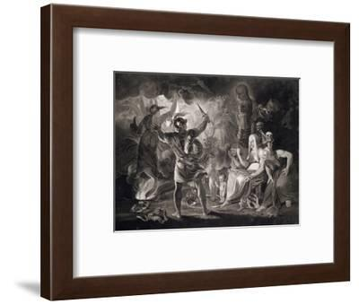 Macbeth, the Three Witches and Hecate, 1805-John Boydell-Framed Giclee Print