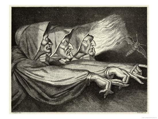 Macbeth, The Witches- Lorsay-Giclee Print