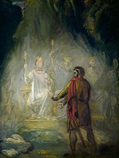 Macbeth-Theodore Chasseriau-Giclee Print