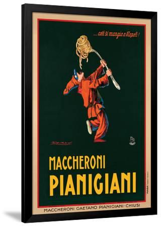 Maccheroni Pianigiani, 1922-Achille Luciano Mauzan-Framed Giclee Print