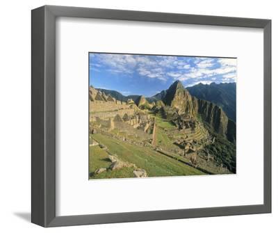 Macchu Pichu, Peru-Gavin Hellier-Framed Premium Photographic Print