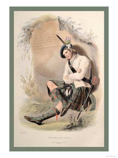 MacDonald of Glenco-R^r^ Mcian-Art Print