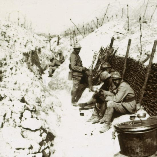 MacDonald trenches, 1914-c1918-Unknown-Photographic Print