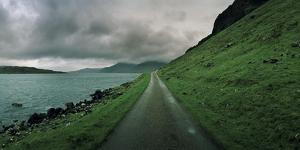 A Single Track Paved Road Along the Edge of Loch Na Keal by Macduff Everton