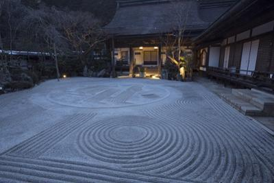 A Zen Garden at Rengejo-In, a Guesthouse as Well as a Temple of Shingon Buddhism by Macduff Everton