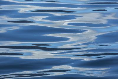 Blue Rippled Water of British Columbia's Inside Passage
