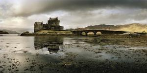 Eilean Donan Castle, Built on a Rocky Promontory at the Meeting Point of Three Sea Lochs by Macduff Everton
