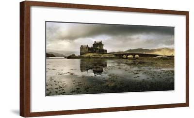 Eilean Donan Castle, Built on a Rocky Promontory at the Meeting Point of Three Sea Lochs