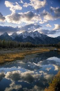 Grand Tetons and Snake River, Late Afternoon by Macduff Everton