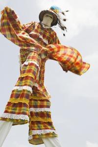 Moko Jumbie in St. Croix by Macduff Everton