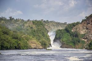 Murchison Falls on the Victoria Nile River by Macduff Everton