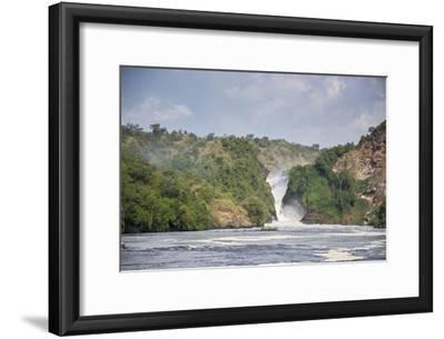 Murchison Falls on the Victoria Nile River