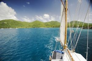 Sailing off of St. John by Macduff Everton