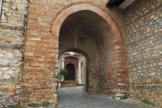 Macedonia, Ohrid, Church of the Holy Mother of God Perivleptos, Ohrid, Macedonia-Emily Wilson-Photographic Print