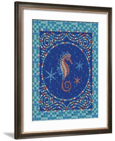 Macedonia Reef Seahorse-Teresa Woo-Framed Art Print