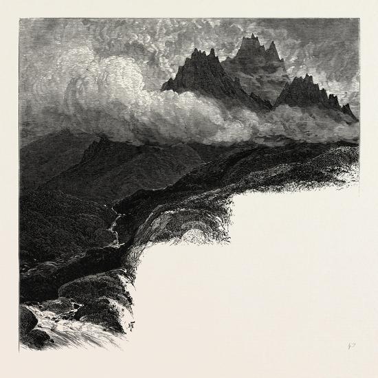 Macgillicuddy's Reeks, Ireland--Giclee Print