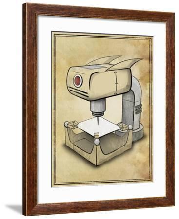 Machine 2-Michael Murdock-Framed Giclee Print