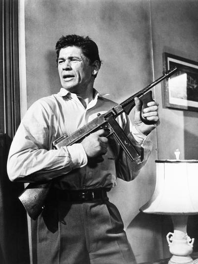 Machine-Gun Kelly, Charles Bronson, 1958--Photo