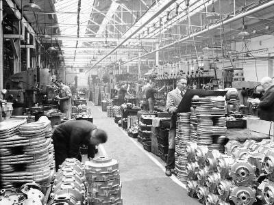Machine Shop at Ariel Motors, C1950--Photographic Print