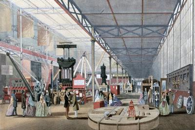 Machinery Hall, Crystal Palace Exhibition, London, 1851--Giclee Print