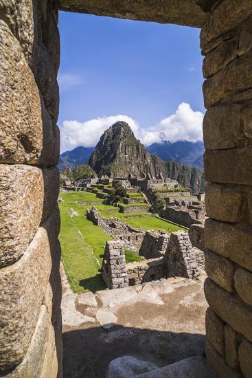 Machu Picchu Inca Ruins and Huayna Picchu (Wayna Picchu), Cusco Region, Peru, South America-Matthew Williams-Ellis-Photographic Print