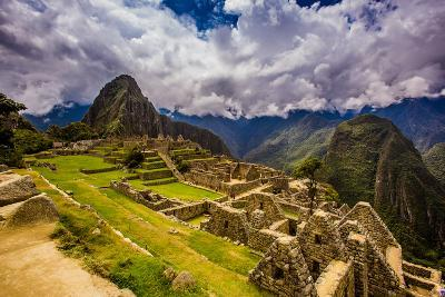 Machu Picchu Incan Ruins, UNESCO World Heritage Site, Sacred Valley, Peru, South America-Laura Grier-Photographic Print