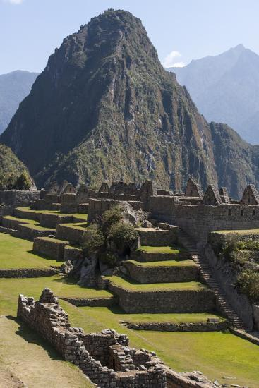Machu Picchu Is the Site of an Ancient Inca City, at 8,000 Feet-Jonathan Irish-Premium Photographic Print