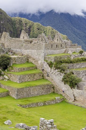 Machu Picchu, UNESCO World Heritage Site, Near Aguas Calientes, Peru, South America-Michael DeFreitas-Photographic Print