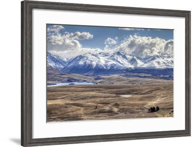 Mackenzie Basin, South Island, New Zealand-Images by Ni-ree-Framed Photographic Print