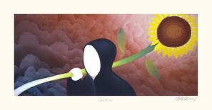 Blessed-Mackenzie Thorpe-Collectable Print
