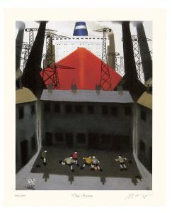 The Game by Mackenzie Thorpe