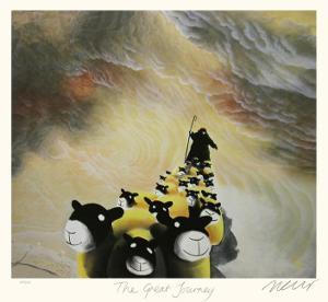 The Great Journey by Mackenzie Thorpe