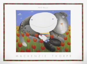 With Genna by Mackenzie Thorpe