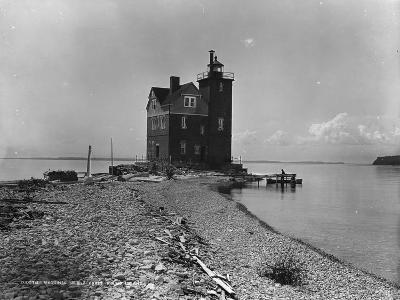 Mackinac Island from Round Island, C.1899--Photographic Print