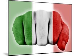Fist With Italian Flag by macky_ch