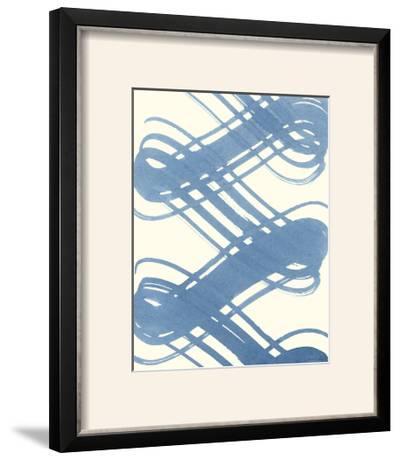 Macrame Blue I-Vanna Lam-Framed Photographic Print