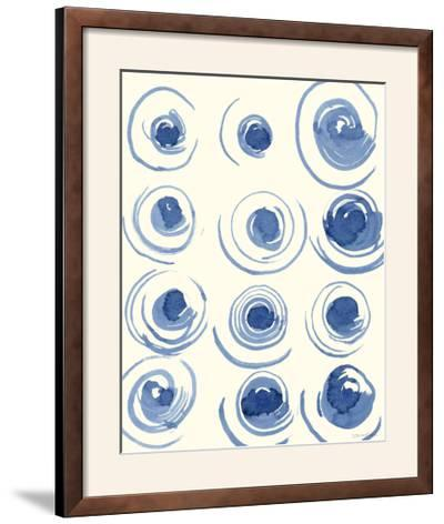 Macrame Blue II-Vanna Lam-Framed Photographic Print