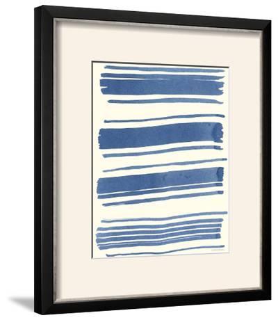 Macrame Blue III-Vanna Lam-Framed Photographic Print