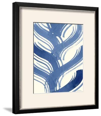Macrame Blue IV-Vanna Lam-Framed Photographic Print